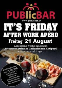 AFTER WORK PARTY @ PUBlicBAR
