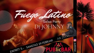 SALSA PARTY FUEGO LATINO @ PUBlicBAR